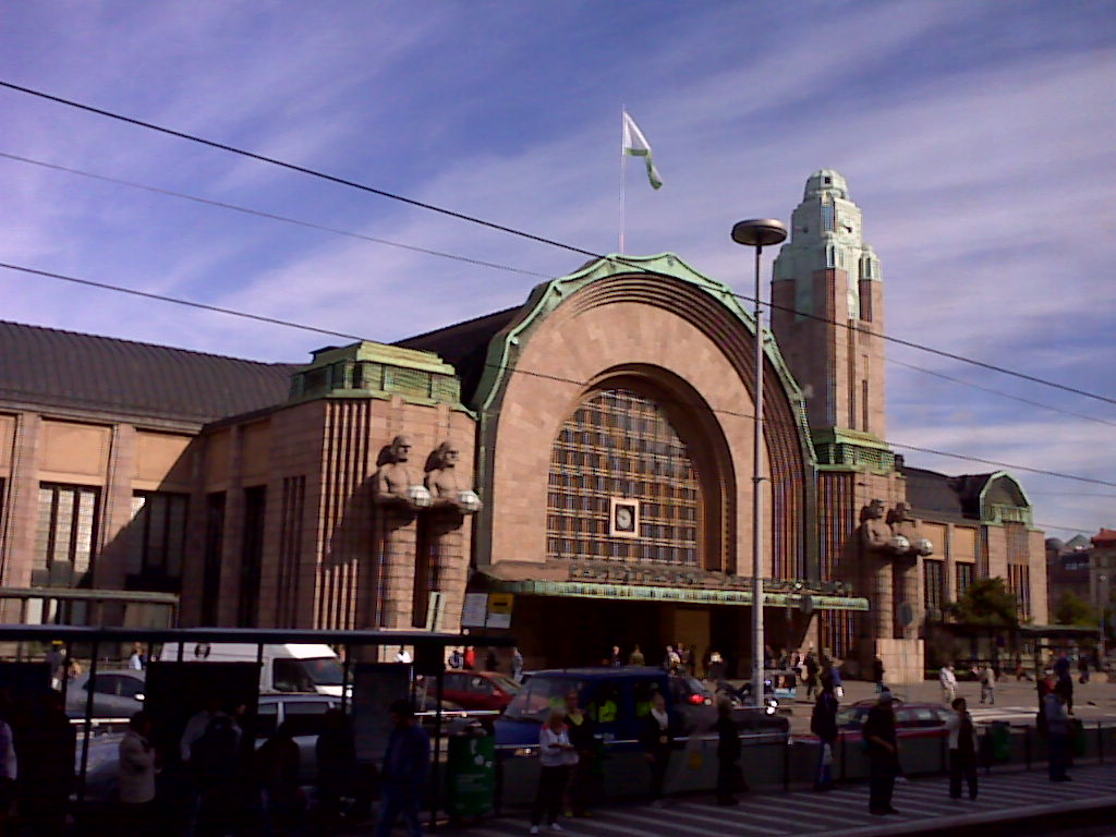 the clean lines and artistic simplicity of the deco station helsinki finland 1